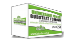 Substrate with absorbent 250l